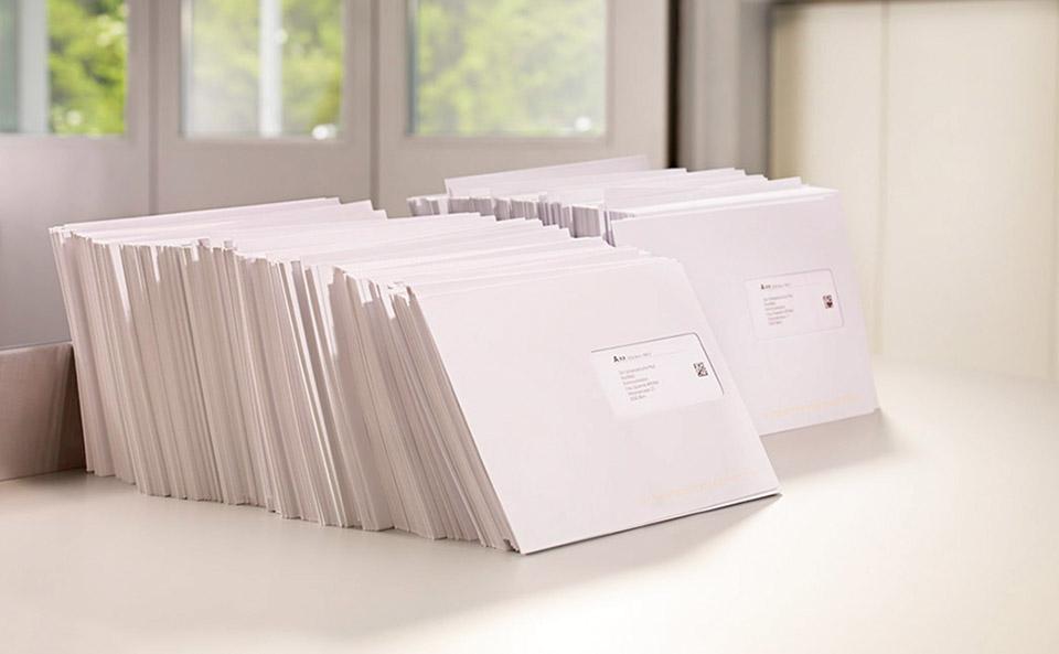 Briefe Gestalten Verpacken Adressieren Die Post