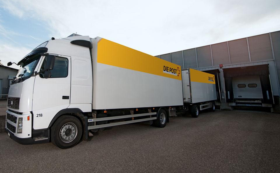 Stückguttransporte National Die Post