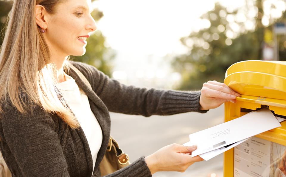 Briefe Frankieren : Frankieren briefe inland die post