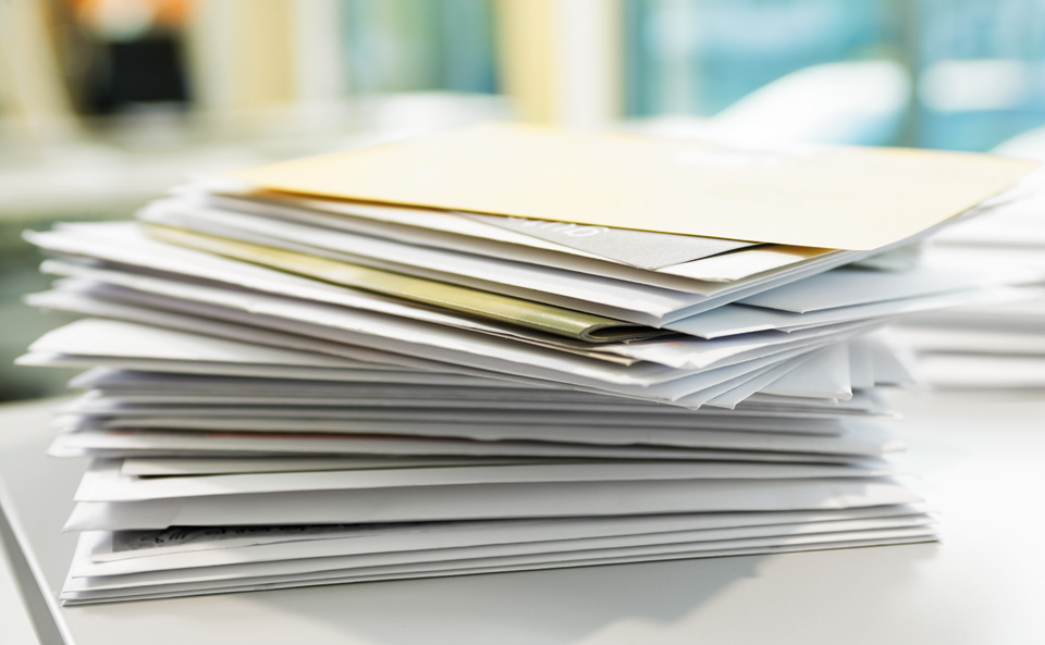 Brief Und Klingelanlagen : Post zurückbehalten die