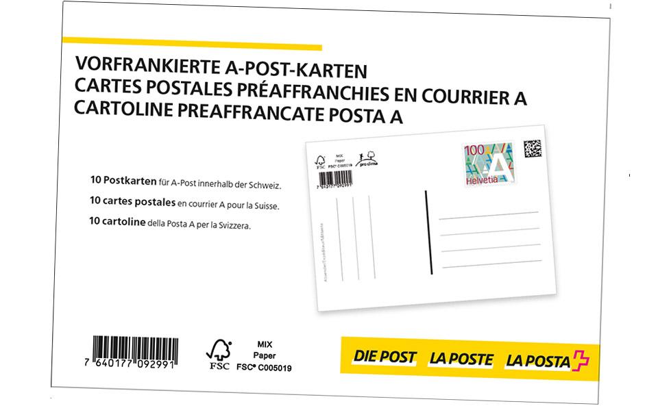 Briefe Mit Einschreiben Verfolgen : Vorfrankierte produkte die post