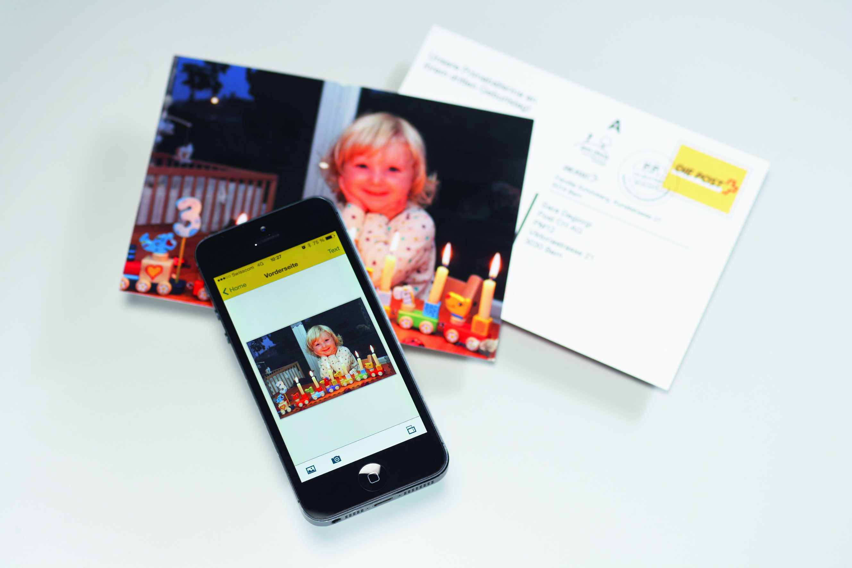 Custom postcard creator