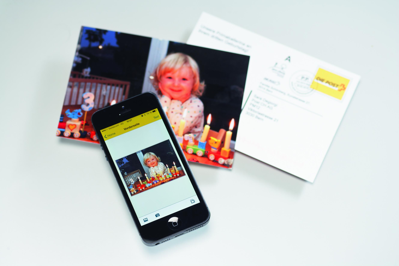 Envoyer Gratuitement Des Cartes Postales Avec Son Mobile La Poste